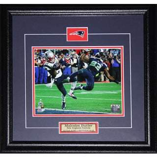 Malcolm Butler New England Patriots Superbowl XLIX Game Winning Interception 8-inch x 10-inch Frame