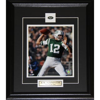 Joe Namath New York Jets Photograph in a 8-inch x 10-inch Frame