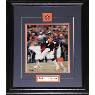 Denver Broncos John Elway 8-inch x 10-inch Framed Picture