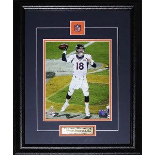 Peyton Manning Denver Broncos Superbowl 50 8-inch x 10-inch Frame