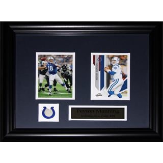 Peyton Manning Indianapolis Colts 2-card Frame