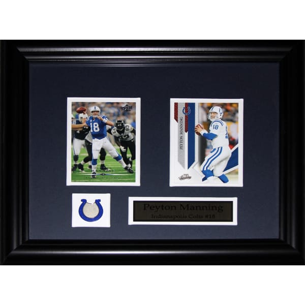 Peyton Manning Indianapolis Colts 2-card Frame - Free Shipping Today ...