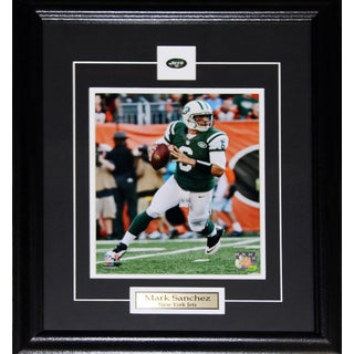 New York Jets Mark Sanchez 8-inch x 10-inch Framed Wall Plaque