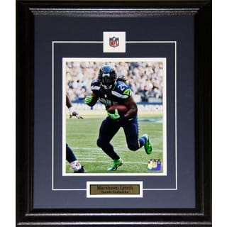Seattle Seahawks Marshawn Lynch 8-inch x 10-inch Framed Wall Plaque