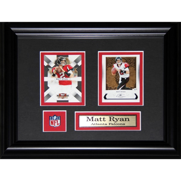 Matt Ryan Atlanta Falcons 2-card Frame