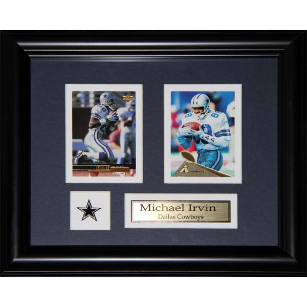 Dallas Cowboys Michael Irvin 2-card Frame