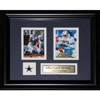 Dallas Cowboys Michael Irvin 2-card Frame