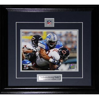 Ndamukong Suh Detroit Lions 8-inch x 10-inch Frame