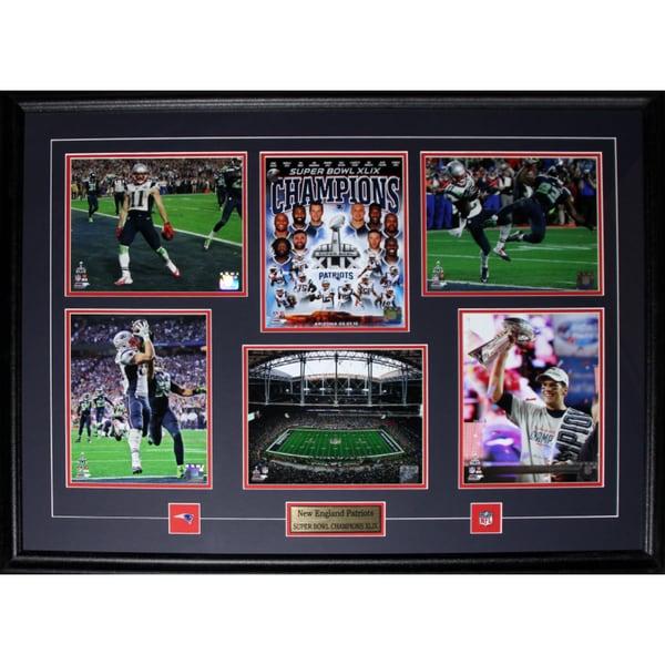 New England Patriots Superbowl XLIX 6-photograph Frame