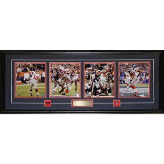 New York Giants Super Bowl XLVI 43-inch x 19-inch Four-Photograph Frame