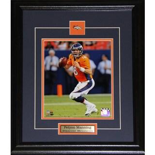 Denver Broncos Peyton Manning 8-inch x 10-inch Framed Wall Plaque