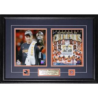 Peyton Manning Denver Broncos Superbowl 50 2-photo Frame
