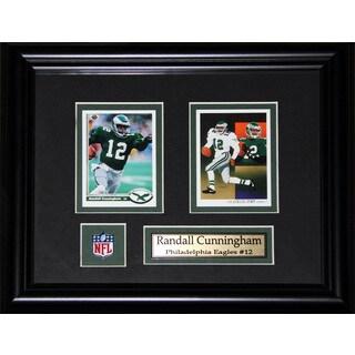 Randal Cunningham Philadelphia Eagles 2-card Frame