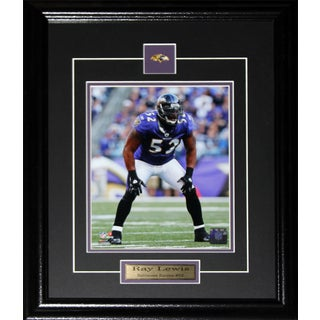 Ray Lewis Baltimore Ravens 8-inch x 10-inch Framed Photo