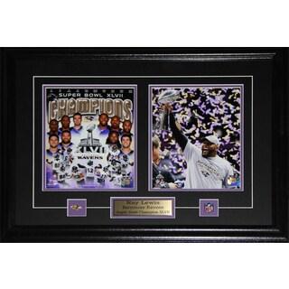 Ray Lewis Baltimore Ravens Superbowl XLVII 2-photo Frame