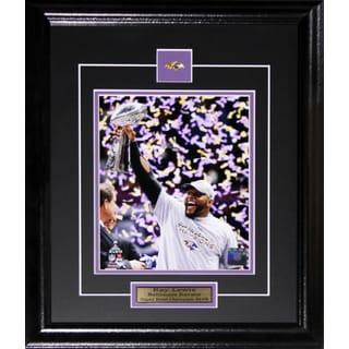 Ray Lewis Baltimore Ravens Superbowl XLVII 8-inch x 10-inch Frame