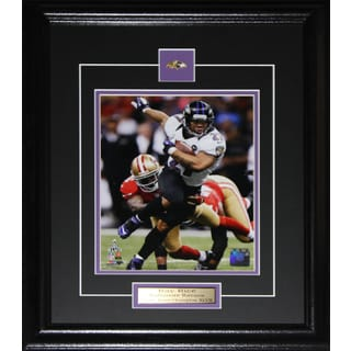 Ray Rice Baltimore Ravens Superbowl XLVII 8-inch x 10-inch Frame