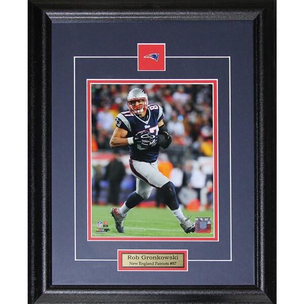 Rob Gronkowski New England Patriots 8-inch x 10-inch Frame