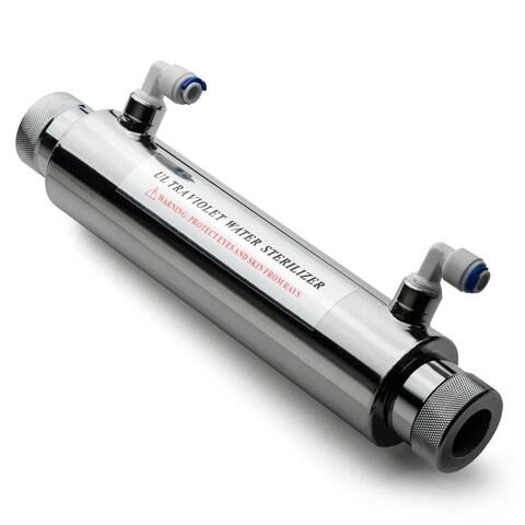 iSpring UVF11A UV 11-watt 110-volt Disinfection Sterilizing Water Filter with Smart Flow Sensor Switch