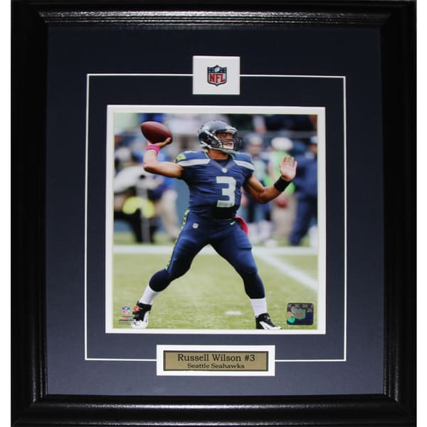 Russell Wilson Seattle Seahawks 8-inch x 10-inch Frame