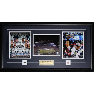 Seattle Seahawks Superbowl XLVIII Russell Wilson 3-photo Frame