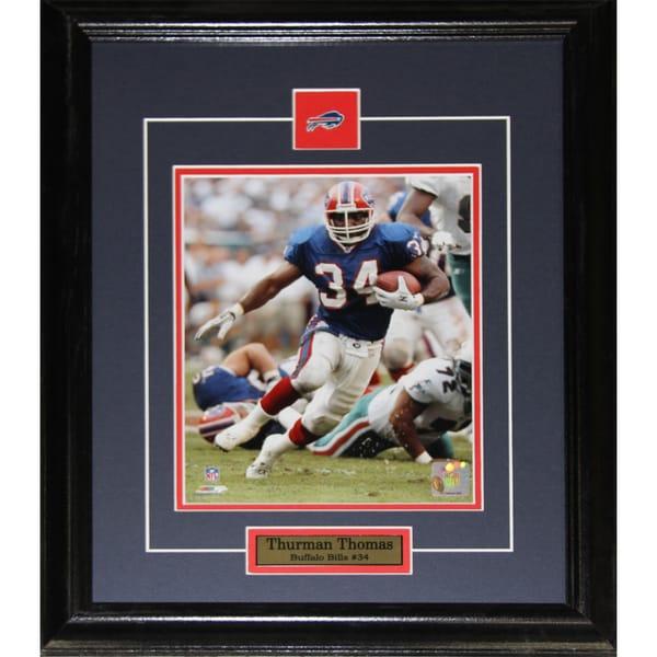 Buffalo Bills Thurman Thomas 8-inch x 10-inch Framed Picture