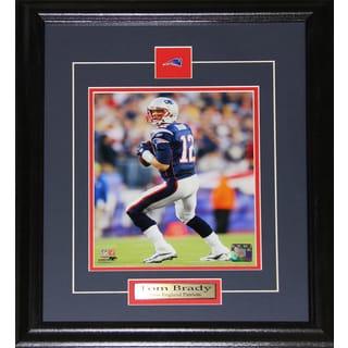 Tom Brady New England Patriots 8-inch x 10-inch Frame
