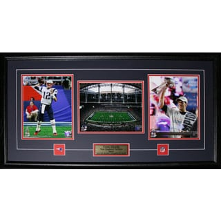 Tom Brady New England Patriots Superbowl XLIX MVP 3-photo Frame