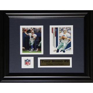 Dallas Cowboys Tony Romo 2-card Framed Wall Plaque