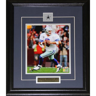 Dallas Cowboys Tony Romo 8-inch x 10-inch Framed Wall Plaque