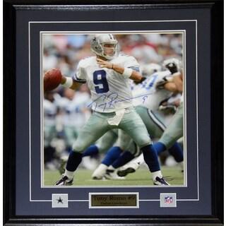Tony Romo Dallas Cowboys Signed 16-inch x 20-inch Frame