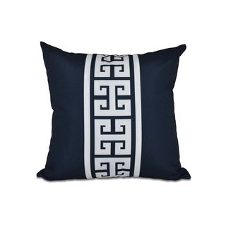 16 x 16-inch Key Stripe Stripe Print Outdoor Pillow
