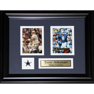 Troy Aikman Dallas Cowboys 2-card Frame