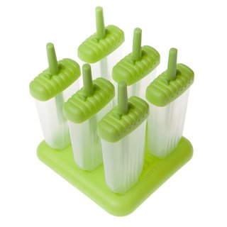Tovolo Green Groovy Ice Pop Molds