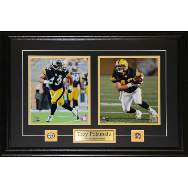 Pittsburgh Steelers Troy Polamalu 2-photo Framed Wall Plaque