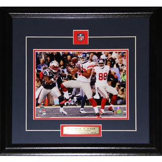 New York Giants Victor Cruz 8-inch x 10-inch Framed Wall Plaque