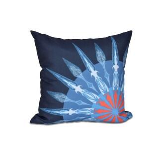 16 x 16-inch Sailor's Delight Geometric Print Outdoor Pillow