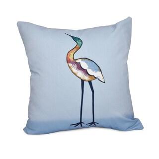 16 x 16-inch Bird Fashion Animal Print Outdoor Pillow