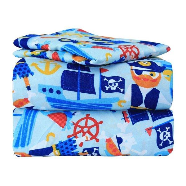 Pirate Twin Bed Sheet Set