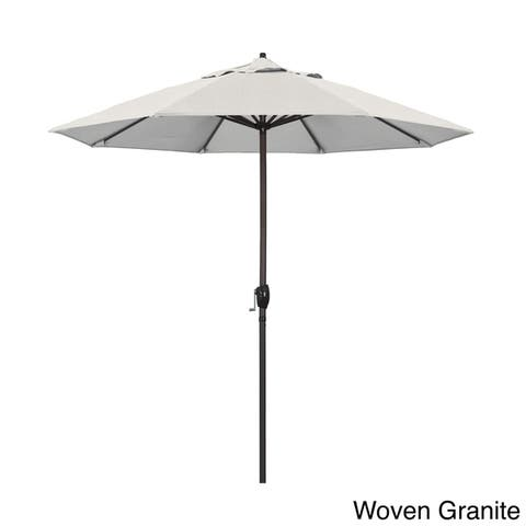 North Bend 9-foot Crank Open Auto-tilt Bronze Umbrella by Havenside Home