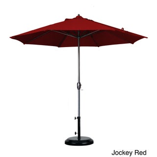 Oliver & James Giusti 9-foot Crank Open Auto-tilt Round Umbrella