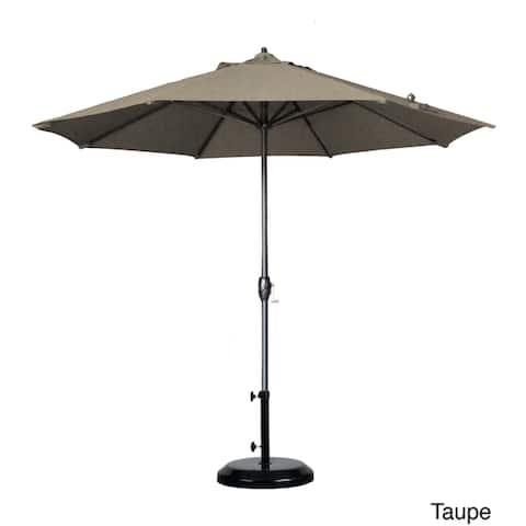 North Bend 9-foot Crank Open Auto-tilt Round Umbrella by Havenside Home