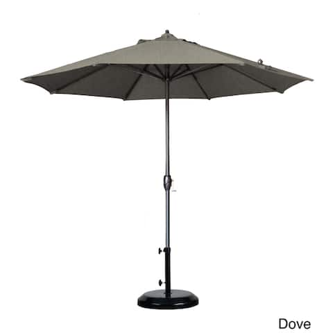 North Bend 9-foot Crank Open Auto-tilt Round Umbrella by Havenside Home