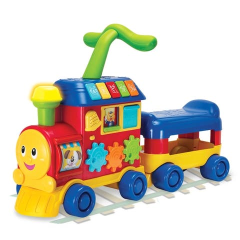 Winfun Red Walker Ride-On Learning Train