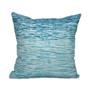 16 x 16-inch Ocean View Geometric Print Outdoor Pillow