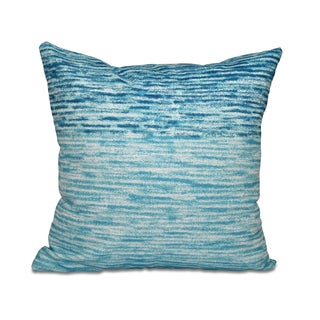 16 x 16-inch Ocean View Geometric Print Outdoor Pillow (4 options available)