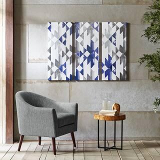 INK+IVY Navy Sierra Blue Gel Coat Printed 3-Piece Canvas Wall Art|https://ak1.ostkcdn.com/images/products/12014691/P18890525.jpg?impolicy=medium