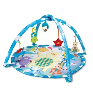 Winfun Polar Fiesta Playmat - Blue/White
