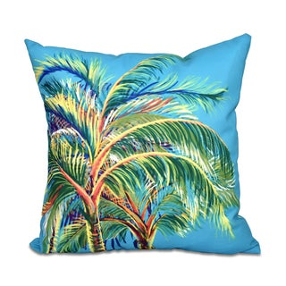 16 x 16-inch Vacation Floral Print Outdoor Pillow