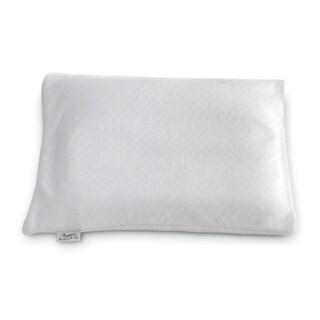 Bucky Buckwheat White Fabric Travel Bed Pillow